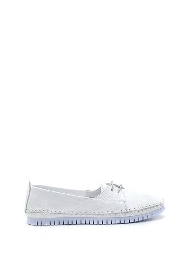 Derimod Kadın Ayakkabı(33) Casual Beyaz